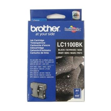 Original Ink Cartridge Brother LC1100BK Black