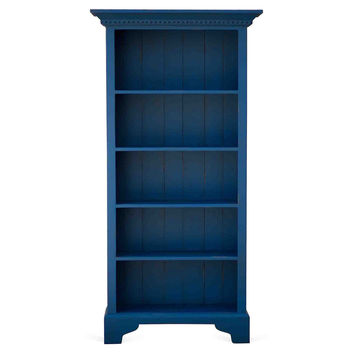 Cambridge Bookcase, Blue, Bookcases & Bookshelves
