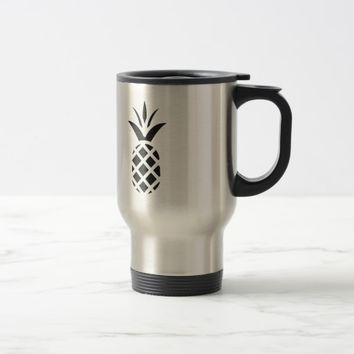 Black Pine Apple Travel Mug