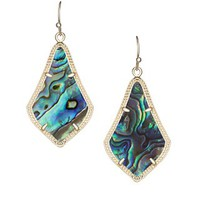 Alex Earrings in Abalone Shell - Kendra Scott Jewelry