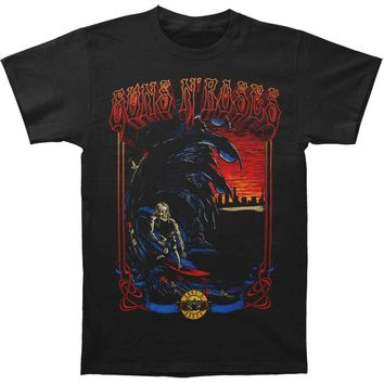 Guns N Roses Men's  Surf Tee T-shirt Black
