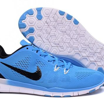 Nike Free TR FIT 5 Brthe Women's Training Shoes Clearwater Military Blue/Black