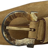 Salvatore Ferragamo Men's Adjustable Belt - 679916 Honey 34