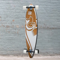 "Bamboo Surf Trurute 44"" Pintail Longboard"