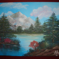 Landscape - Bob Ross - Original