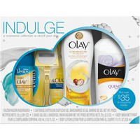 Olay Indulge Shower Collection with Venus Gift Set, 4 pc - Walmart.com