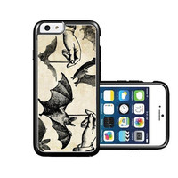 RCGrafix Brand Dangling Bats Halloween iPhone 6 Case - Fits NEW Apple iPhone 6