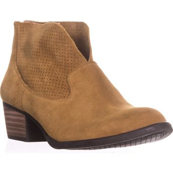 Jessica Simpson Dacia Booties, Honey Brown, 6 US / 36 EU