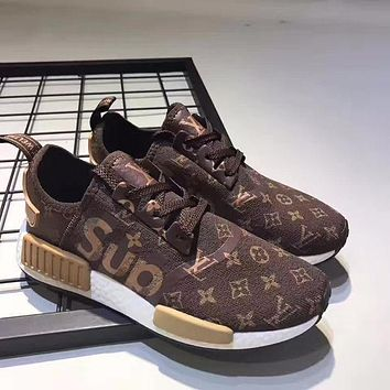 2018 Original Adidas GUCCI NMD SUP ashion casual shoes