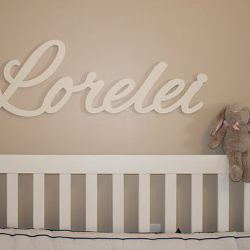 extra large wooden name sign 11 12 letters baby name plaque