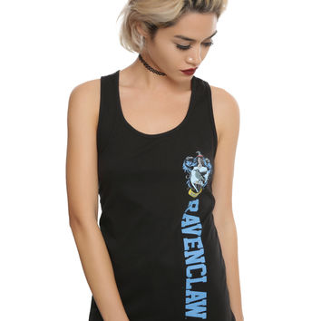 Harry Potter Ravenclaw Vertical Logo Girls Tank Top