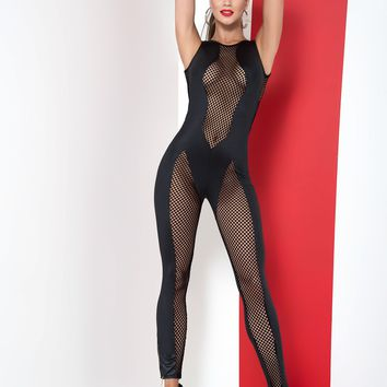 Netted Jumpsuit