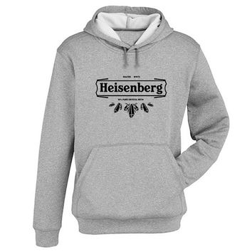 heisenberg logo Hoodie Sweatshirt Sweater Shirt Gray and beauty variant color for Unisex size
