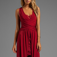 Alice by Temperley Alcazar Long Dress in Wine from REVOLVEclothing.com