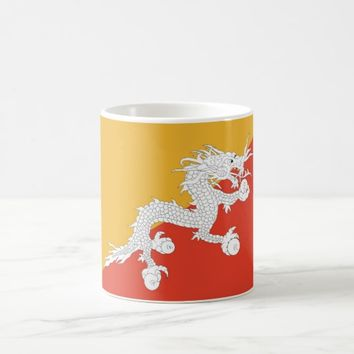 Mug with Flag of Bhutan