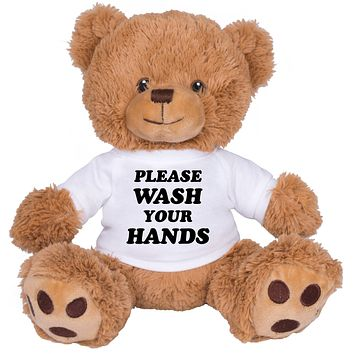 Please Wash Your Hands Brown Bear