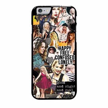 taylor swift happy iphone 6 plus 6s plus 4 4s 5 5s 5c cases