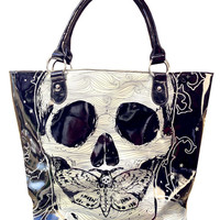 Death Moth Hear See Speak No Evil Bag