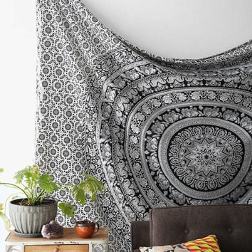 Hippie Tapestry, Elephant Hippie Tapestries, Hippie Wall Hanging, Cotton Bedding Throw, Boho Bohemian bedspread,tapestry wall hanging