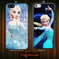 frozen iPhone 5 case iPhone 5c case iPhone 5s case iPhone 4 case iPhone 4s case, Phone covers, Disney frozen--VA179