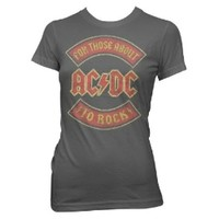AC/DC About to Rock Vintage Jr T-shirt