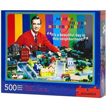 Mister Rogers' Neighborhood 500-Piece Puzzle