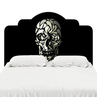 Skull 4 Headboard Decal