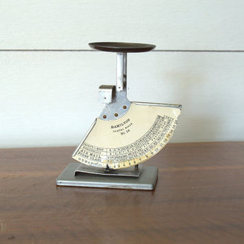 Industrial Office Decor Postal Scale