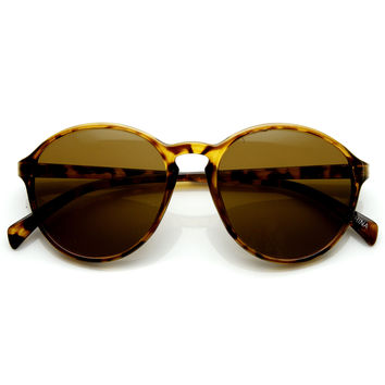 Dapper Vintage 1920's Inspired Indie P3 Round Fashionable Sunglasses 9175