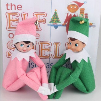 The Elf on The Shelf  Elf Dolls Plush Dolls Boy Girl Figure Toys A Christmas Xmas Toy Dolls Gift [8833918220]