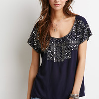 Bead-Embellished Top
