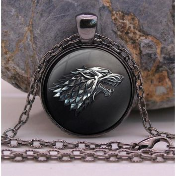 Game of Thrones Direwolf Necklace