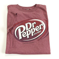 Young Mens Dr. Pepper Dude Screened Tee