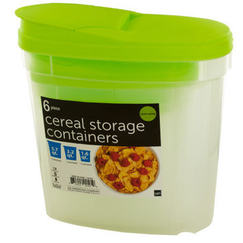 Nesting Cereal Storage Containers ( Case of 3 )