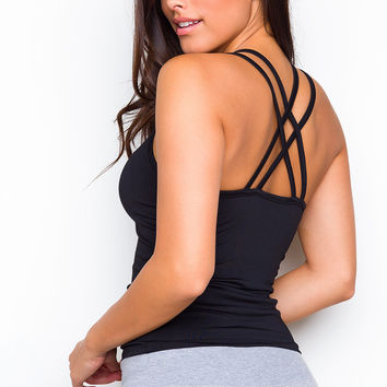 Tina Tank Top - Black
