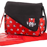 Disney Minnie Mouse Sketch Flap Messenger Diaper Bag