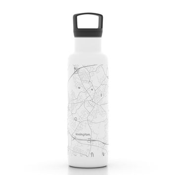 City Map 21 oz Insulated Hydration Bottle
