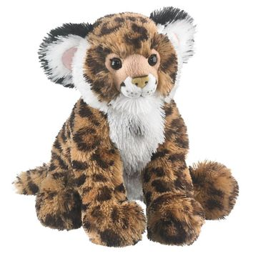 "13"" Jaguar Cub Stuffed Animals Floppy Zoo Jungle Conservation Collection"