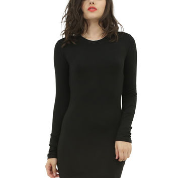 BLQ Basic Long Sleeve Dress