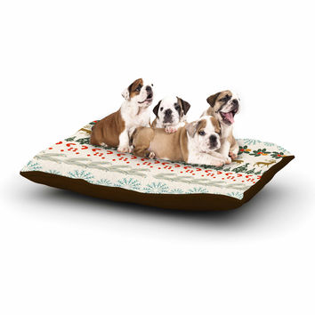 "Famenxt ""Christmas Vibes"" Holiday Pattern Dog Bed"