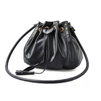Korean Style Women's Lady Hobo PU leather Handbag Fashion Shoulder Bag Purse