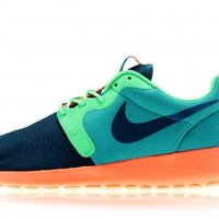 titolo nike rosherun hyperfuse 636220-300Catalina/ Space Blue- Poison Green-