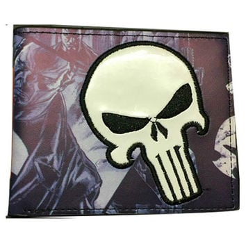 The Punisher Bi-Fold WALLET