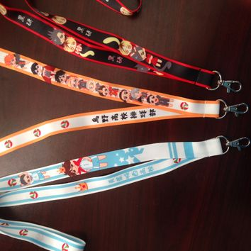 (Single) Haikyuu!! Lanyards