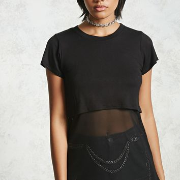 Mesh Layer Combo Top