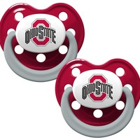 Ohio State Buckeyes Pacifiers - 2 Pack