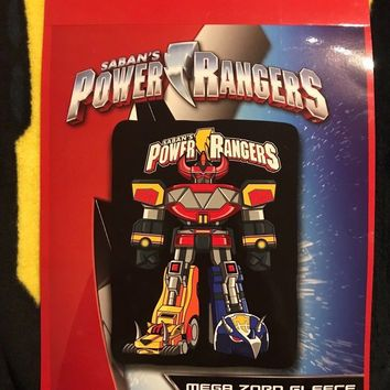 "Saban's POWER RANGERS Megazord Mega Zord Fleece Throw Blanket 45"" X 60"""