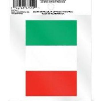 "FIFA Italy 3.5"" Flat Static Cling Decal Sticker World Cup Soccer COPA Football"