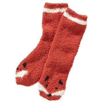 Old Navy Womens Cozy Socks Size One Size - Fox