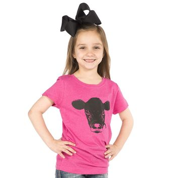 Girl's Ruby's Rubbish Pink Calf Tee